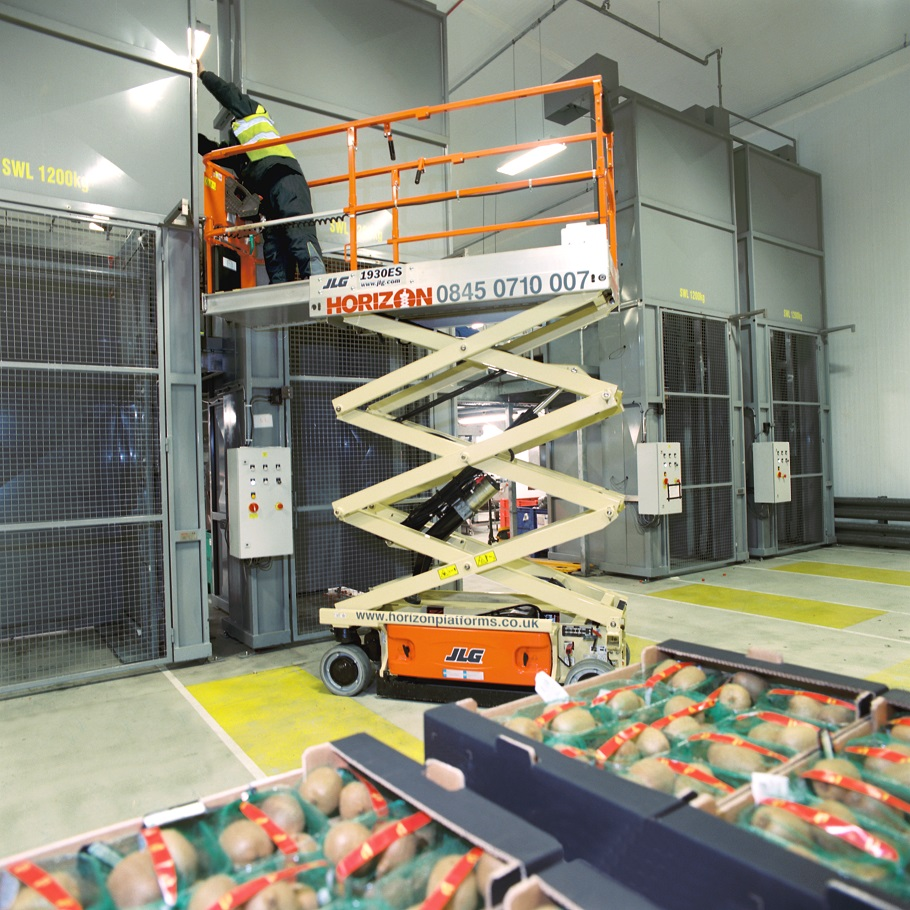Safe work at height in the food industry